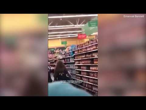 Nina Jackson - Walmart People: Two Moms With Baby Strapped To Them Fighting