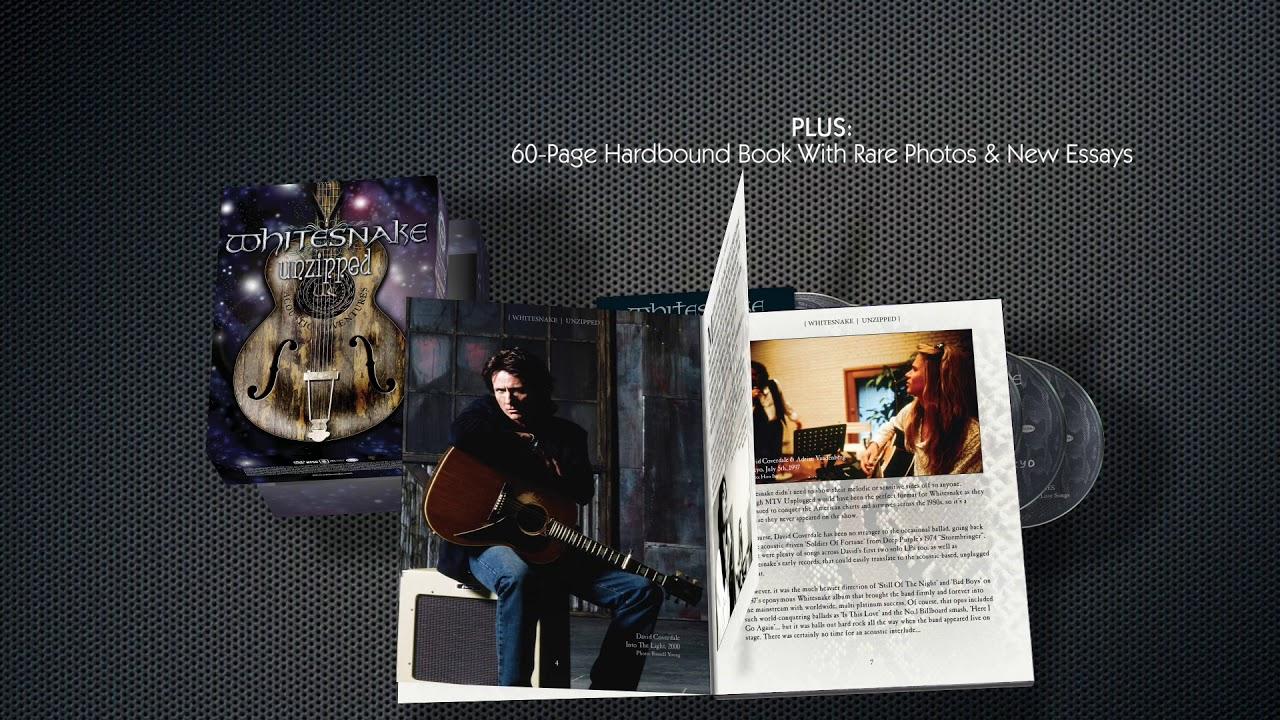 Whitesnake Unplugs For UNZIPPED! - Whitesnake Official Site