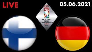 ЧМ 2021 по хоккею Финляндия Германия Полуфинал Смотрю матч 05 06 2021
