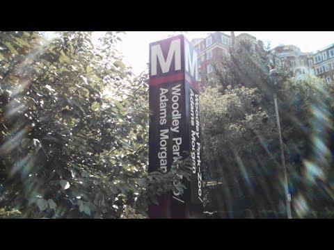 Woodley Park-Zoo/Adams Morgan Metro Station - Washington DC Metro Red line