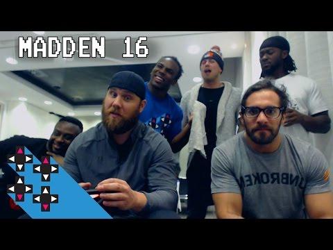 SEMI-FINAL: Injured Seth Rollins Competes (Madden 16 Tournament) — Gamer Gauntlet