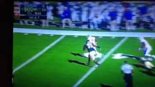 Baylor DT Andrew Billings runs down Kansas RB