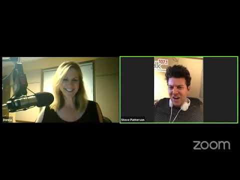 Donna and Steve Zoom Facebook Live