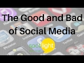 """The Good and Bad of Social Media"" - practice English with Spotlight"