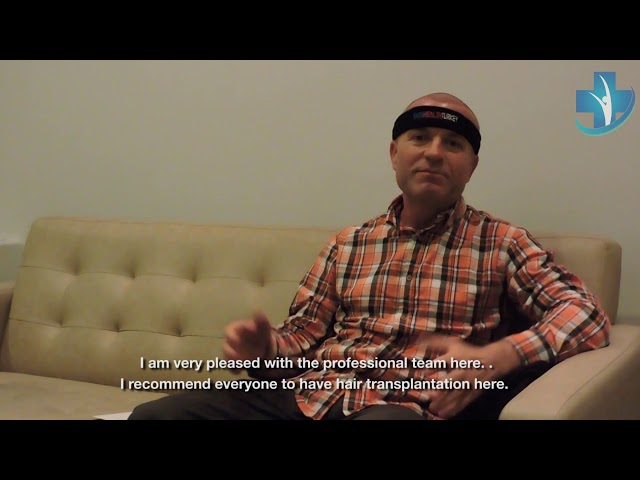 Hair Transplant Turkey - Testimonial Mr.  Lupan  - Dr. Öykü ÇELEN