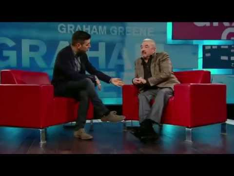 Graham Greene on George Stroumboulopoulos Tonight: