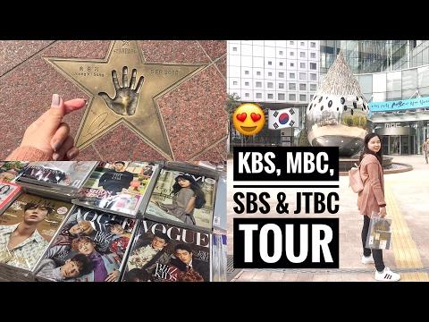 Korea Vlog #12: KDRAMA ADDICT TOUR at Digital Media City!❤️ Pumunta sa KBS, SBS, MBC at JTBC! 😍😂