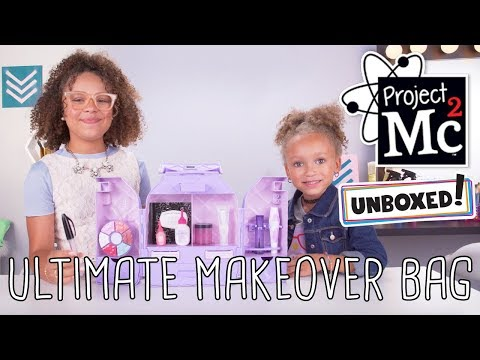 Unboxed!  Project Mc²  Episode 2: Ultimate Makeover Bag  DIY Cosmetic Chemistry Kit