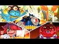 Yo-kai Watch Blasters - All Cutscenes (Bosses)