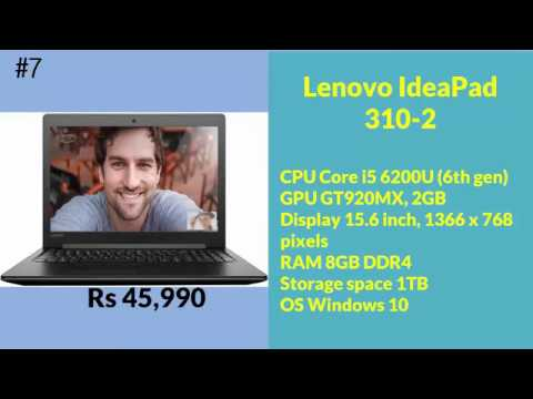 Top 10 Laptops Under 50000 Best Budget Laptops To Buy In 2017 Business  Laptop India