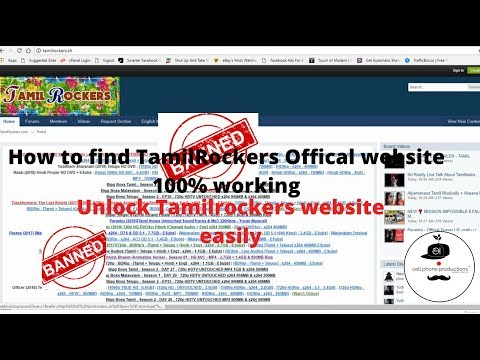 How to find tamilrockers new website 2018 I 100000000000% working