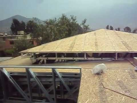 Drywall lima construcci n como se instala un techo a 4 for Techos en drywall para casas