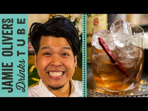 Spicy Rum Old Fashioned Cocktail | Dheeradon Dissara