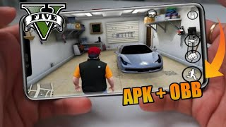 Download GTA 5 APk + obb  For Android | How To Download Real GTA 5  on ANDROID Open World   Game ?