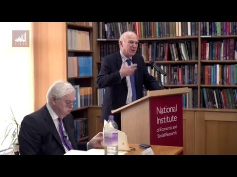 The Economics of Brexit - Sir Vince Cable & Lord Norman Lamont Debate - #NIESRBrexit