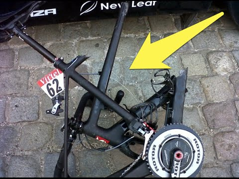 Did Ryder Hesjedal use an engine on his Cervelo? Vuelta 2014 crash