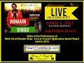 Download Mark Irie at Romain Virgo @ Bourbon Beach - April 6, 2015 MP3 song and Music Video