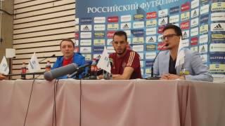 Интервью Гилерме после тренировки сборной России