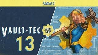 FALLOUT 4 (Vault-Tec Workshop) #13 : The Settlement Under Attack Fiasco