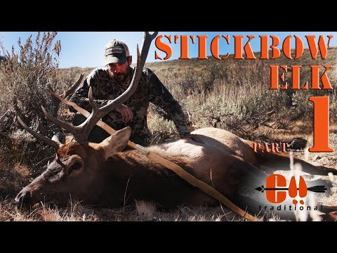 Traditional Bowhunting Elk With Primitive Bow - Part 1