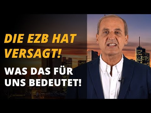 Die Europäische Zentralbank hat versagt! Was das für alle bedeutet ... | Florian Homm
