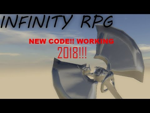 roblox infinity rpg codes 2018