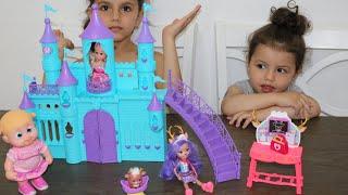 العاب بنات | فتح لعب | دمية طفل | لعبة بيبي | Baby Doll Bunk Bed Bedroom House Toy!فآجأت بالألعاب