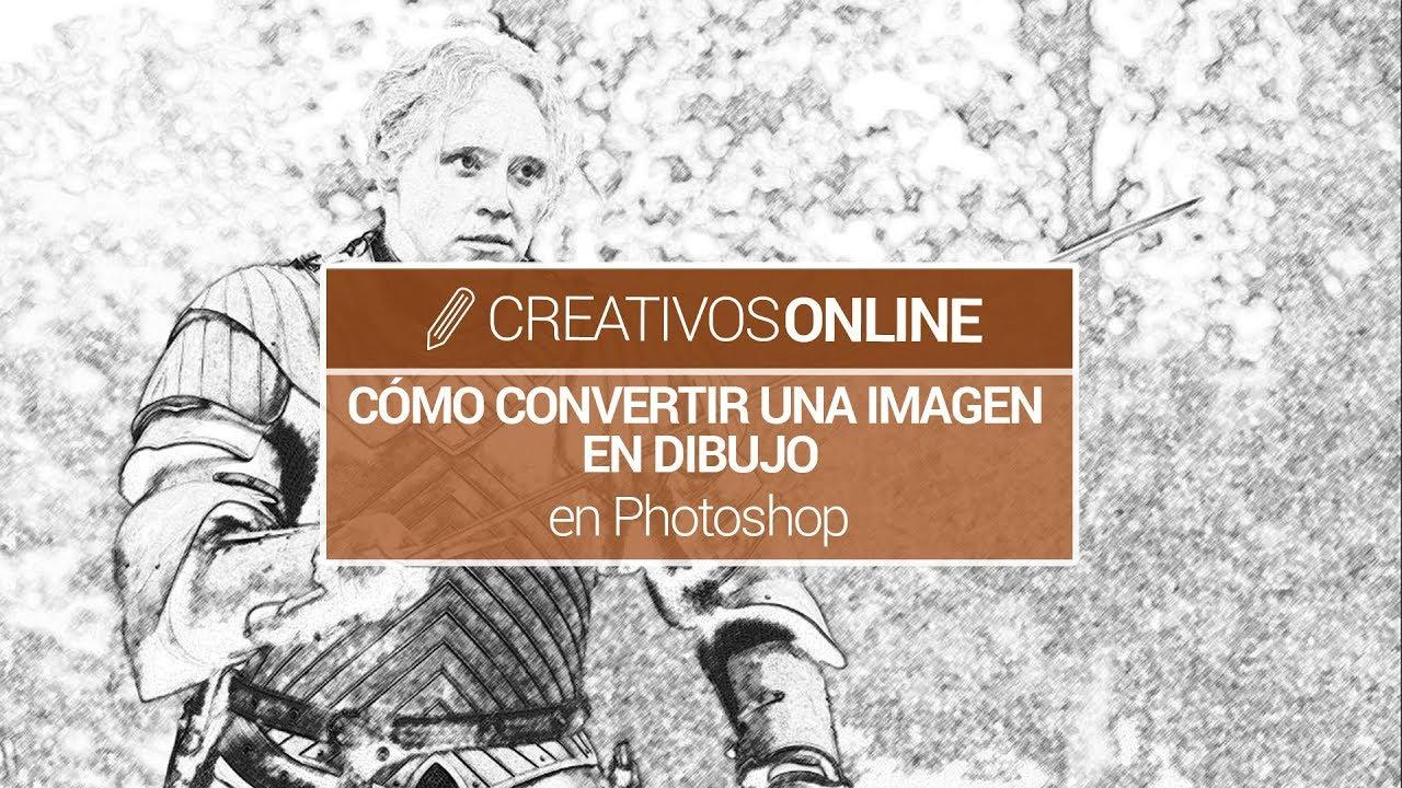 Cómo convertir una fotografía en un dibujo con photoshop