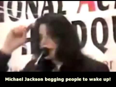Michael Jacksons warning people to wake up illuminati NWO