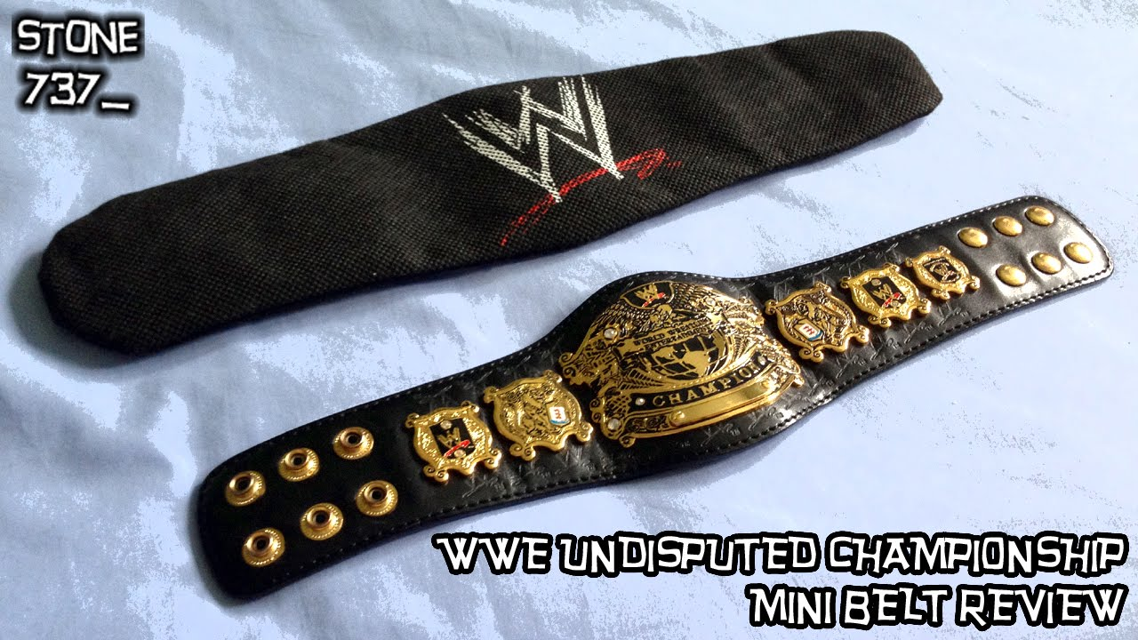 cn replica bags - WWE Undisputed Championship mini belt review - YouTube