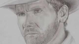 Drawing of Indiana Jones