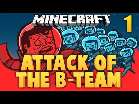 Minecraft ★ ATTACK OF THE B TEAM  ★ 1