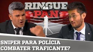 POLICIAL DEVE USAR ARMAMENTO PESADO PARA SE DEFENDER? | RINGUE DA PAN #24