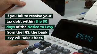 IRS Bank Levy | Flat Fee IRS Tax relief | Florida | United States