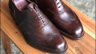 How to Make a Hand Welted Oxford [Full]
