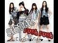 SISTAR-Push Push Lyrics