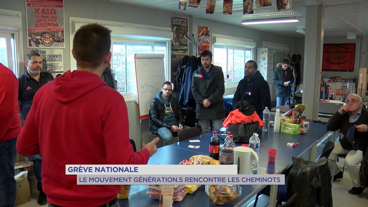 Yvelines   Grève nationale : le mouvement Génération.s rencontre les cheminots
