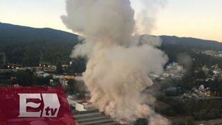 Aplican Plan DN III por explosión en Hospital Infantil de Cuajimalpa / Explosión Hospital Infantil