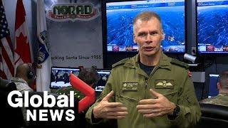 Tracking Santa around the globe with NORAD