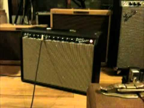 1963 Gibson SG with 1965 Fender Deluxe Reverb