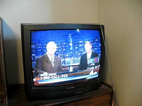End Of Analog Tv Wrc Channel 4 Washington Dc Youtube
