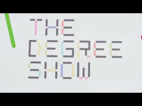 Ravensbourne students working on The Degree Show 2017