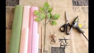 Как сделать цветы из гофрированной бумаги своими руками поэтапно