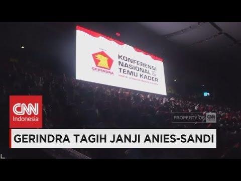 Gerindra Tagih Janji Anies-Sandi