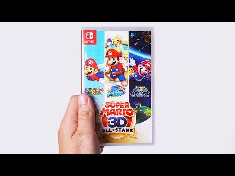 Super Mario 3D All Stars - Unboxing 4K