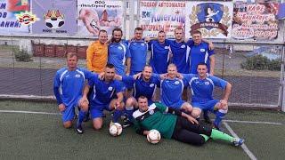 Мини футбольная команда ГП Совхоз комбинат Заря на Кубке Лельчиц 2020