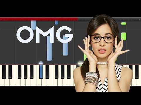 Camila cabello OMG Quavo Piano Midi tutorial Sheet app Cover Karaoke