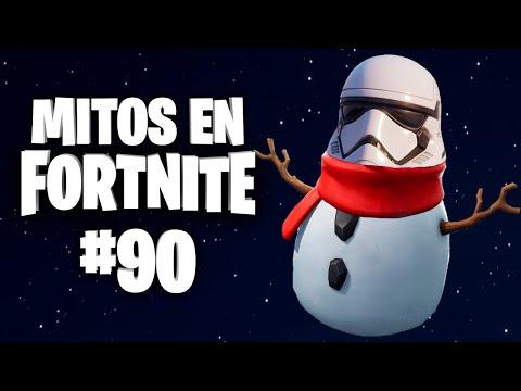 ¡EL MUÑECO DE NIEVE STORMTROOPER! - Mitos Fortnite Star Wars - Episodio 90