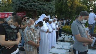 Turkey: People pray outside Hagia Sophia for Eid al-Adha | AFP