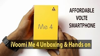 iVooMi Me 4 4G Volte Smartphone Unboxing and Hands On